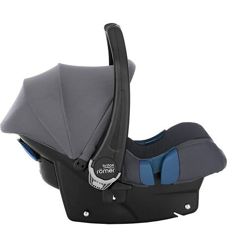 Автокресло Britax Römer Baby-Safe Plus SHR II Storm Grey (6)