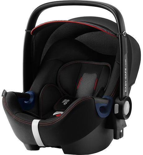 Автокресло Britax Römer Baby-Safe² i-Size + база FLEX Cool Flow - Black (7)