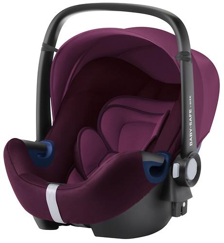 Автокресло Britax Römer Baby-Safe² i-Size + база Flex Burgundy Red (14)