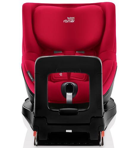 Автокресло Britax Römer Dualfix i-Size Fire Red (12)