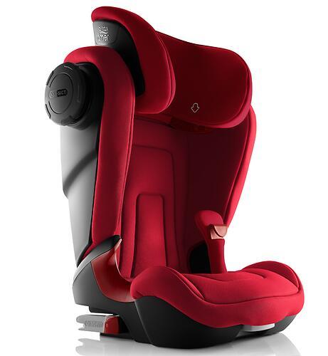 Автокресло Britax Römer Kidfix² S Fire Red Trendline (8)