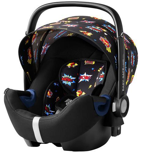 Автокресло Britax Römer Baby-Safe² i-Size + база Flex Comic Fun (9)