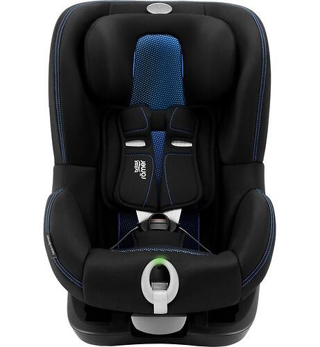 Автокресло Britax Römer King II LS Black Series Cool Flow - Blue (7)