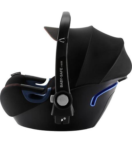 Автокресло Britax Römer Baby-Safe² i-Size Cool Flow - Black (9)
