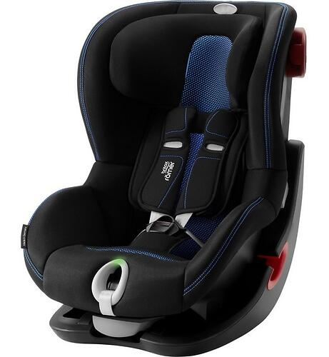 Автокресло Britax Römer King II LS Black Series Cool Flow - Blue (6)