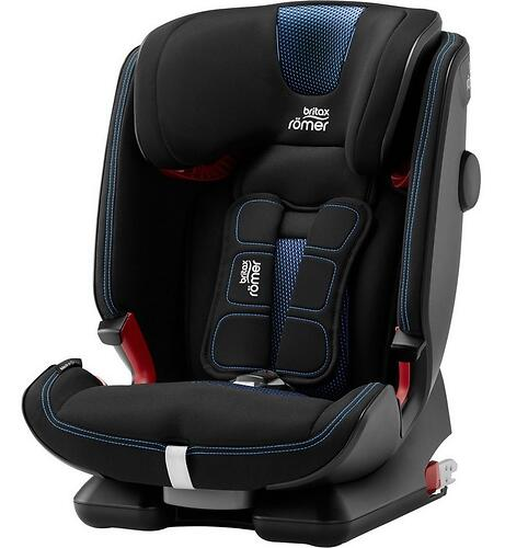 Автокресло Britax Römer Advansafix IV R Cool Flow - Blue Special Highline (9)