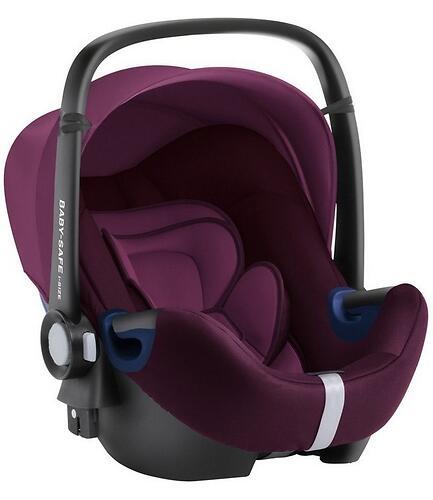 Автокресло Britax Römer Baby-Safe² i-Size Burgundy Red (8)