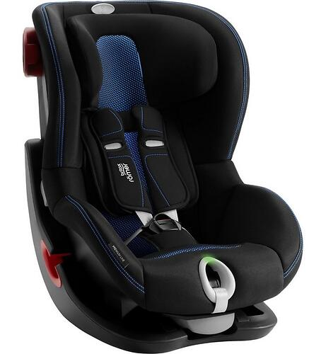Автокресло Britax Römer King II LS Black Series Cool Flow - Blue (8)