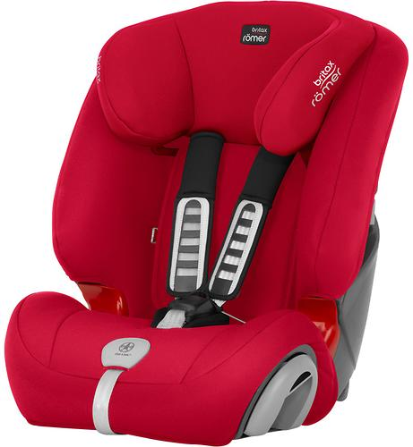 Автокресло Britax Römer Evolva 123 Plus Fire Red Trendline (6)