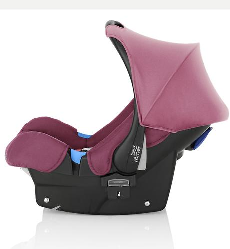 Автокресло Britax Römer  Baby-Safe Wine Rose (6)