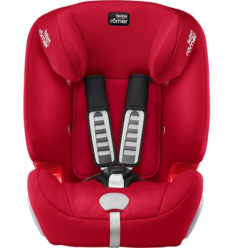 Автокресло Britax Römer Evolva 123 Plus Fire Red Trendline (9)