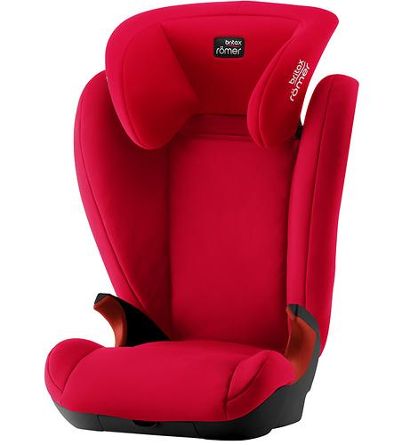Автокресло Britax Römer Kid II Black Series Fire Red Trendline (5)
