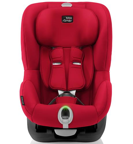 Автокресло Britax Römer King II LS Black Series Fire Red Trendline (7)