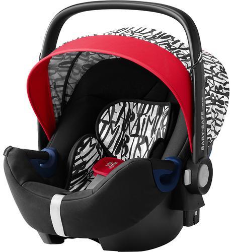 Автокресло Britax Römer Baby-Safe² i-Size + база Flex Letter Design (4)