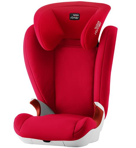 Автокресло Britax Römer Kid II Fire Red Trendline (5)