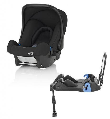 Автокресло Britax Römer Baby-Safe + ременная база Cosmos Black (1)