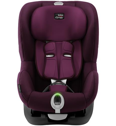 Автокресло Britax Römer King II LS Black Series Burgundy Red Trendline (7)
