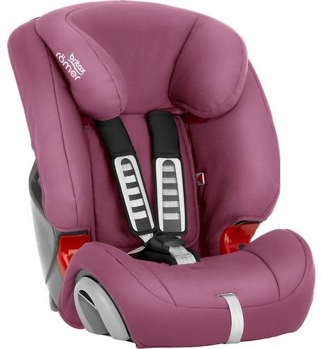 Автокресло Britax Römer Evolva 1-2-3 Wine Rose (7)