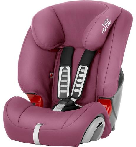 Автокресло Britax Römer Evolva 1-2-3 Wine Rose (6)