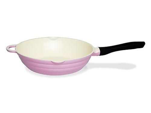 Глубокая сковорода LAZURITE 28 см (алюминий с керамическим антипригарным покрытием) Fissman 4743 (1)