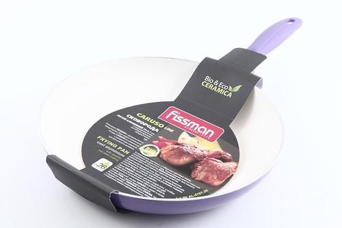 Сковорода для жарки Fissman CARUSO 26x4,7см с индукционным дном (алюм. с керам. антипригарным покрытием) 4787 (1)