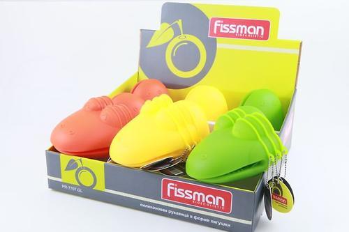 Силиконовая рукавица в форме лягушки Fissman 7707 (1)
