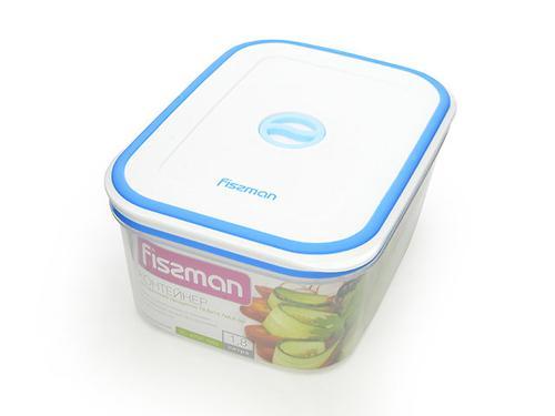 Прямоугольный контейнер для хранения продуктов 19,8x14,7x8,6 см /1,8 л (пластик) Fissman 6797 (3)