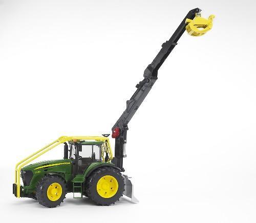 Трактор John Deere 7930 лесной с манипулятором (6)