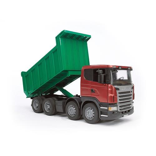 """Самосвал Scania (подходит модуль со звуком и светом """"H"""") (8)"""