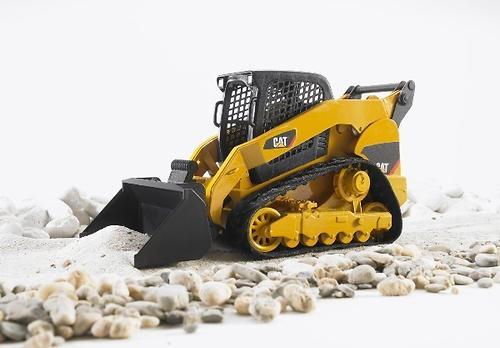Мини-погрузчик гусеничный CAT с ковшом (8)