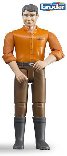 Фигурка мужчины в коричневых джинсах (1)