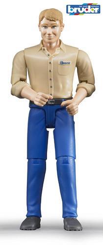 Фигурка мужчины голубые джинсы (1)