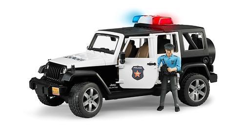 Внедорожник Jeep Wrangler Unlimited Rubicon Полиция с фигуркой (1)