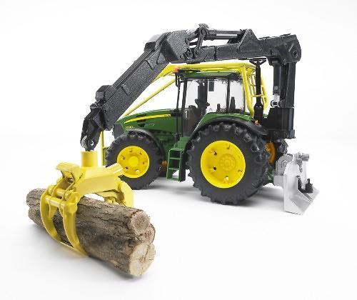 Трактор John Deere 7930 лесной с манипулятором (8)