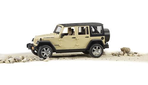 Внедорожник Bruder Jeep Wrangler Unlimited Rubicon (5)