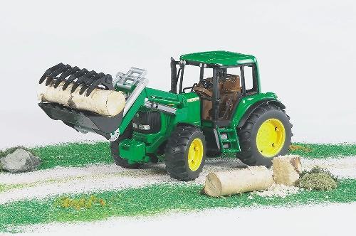 Трактор John Deere 6920 с погрузчиком (5)