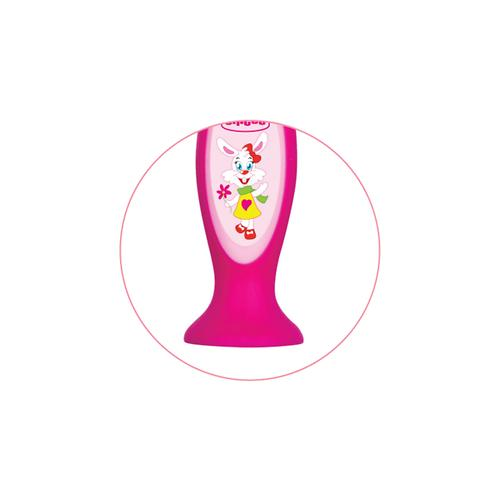 Зубная щетка Chicco розовая 3-6 лет (8)