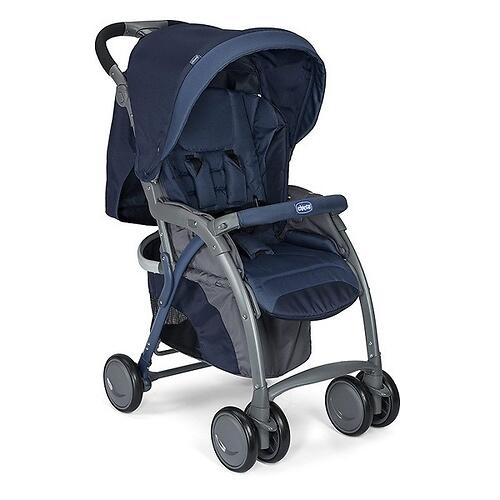 Прогулочная коляска Chicco Simplicity Blue Passion (12)