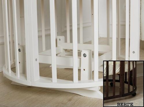 Маятник 2в1 для кроватки Incanto Mimi 7в1 Венге (3)