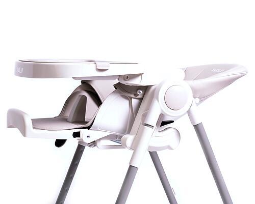 Стульчик для кормления IvoliaQ6 с колесами Beige (20)