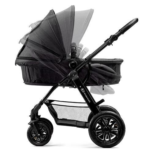 Коляска Kinderkraft 3в1 MOOV Black (17)