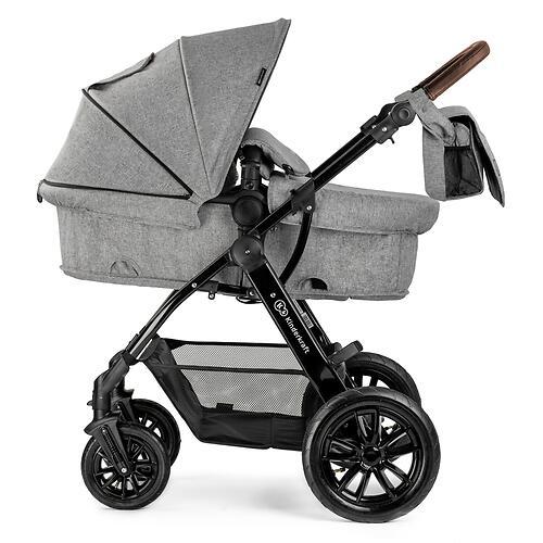 Коляска Kinderkraft 3в1 MOOV Grey Melange (15)
