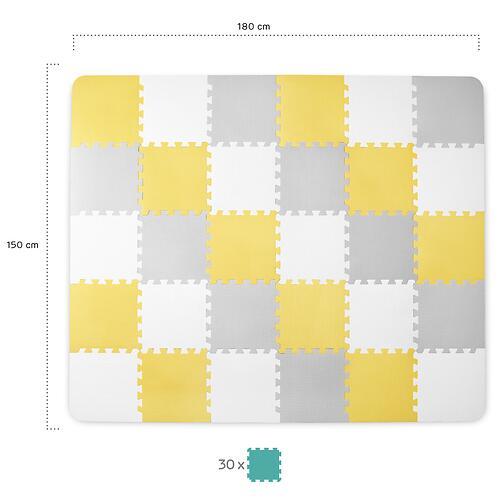 Коврик-пазл Kinderkraft <img class='emojiMco' alt='🇪🇺' src='https://minim.kz/system/library/Emoji/AssetsEmoji/Icons/IconsIphone/U1F1EA U1F1FA.png'> LUNO Yellow (19)