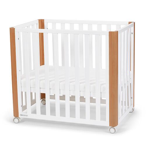 Детская кроватка Kinderkraft <img class='emojiMco' alt='🇪🇺' src='https://minim.kz/system/library/Emoji/AssetsEmoji/Icons/IconsIphone/U1F1EA U1F1FA.png'> с матрасом KOYA White (20)