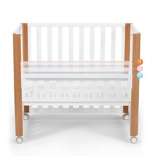 Детская кроватка Kinderkraft <img class='emojiMco' alt='🇪🇺' src='https://minim.kz/system/library/Emoji/AssetsEmoji/Icons/IconsIphone/U1F1EA U1F1FA.png'> с матрасом KOYA White (23)
