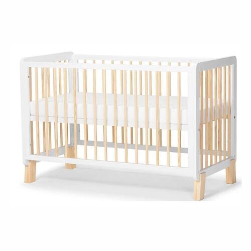 Детская кроватка Kinderkraft <img class='emojiMco' alt='🇪🇺' src='https://minim.kz/system/library/Emoji/AssetsEmoji/Icons/IconsIphone/U1F1EA U1F1FA.png'> с матрасом LUNKY White (10)