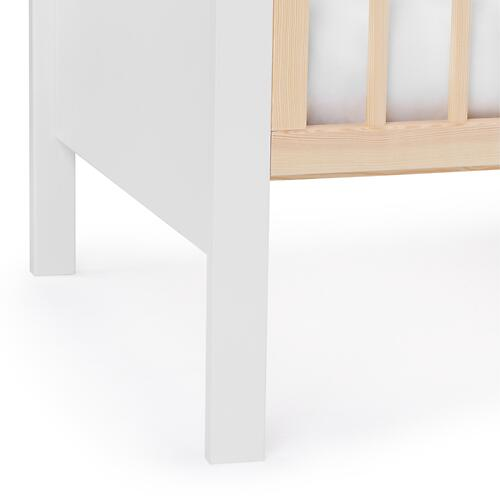Детская кроватка Kinderkraft <img class='emojiMco' alt='🇪🇺' src='https://minim.kz/system/library/Emoji/AssetsEmoji/Icons/IconsIphone/U1F1EA U1F1FA.png'> с матрасом MIA Grey (17)