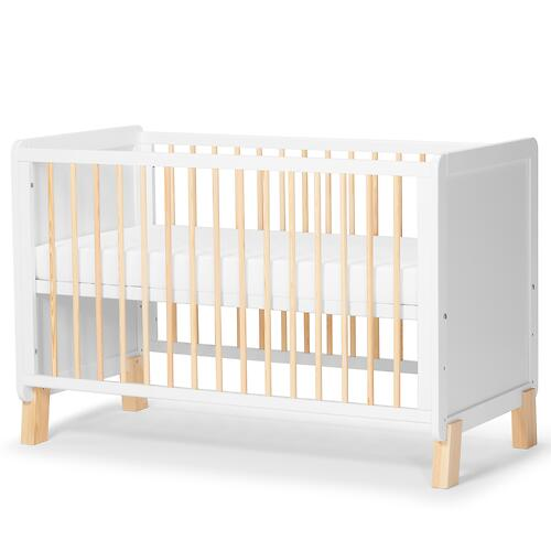 Детская кроватка Kinderkraft <img class='emojiMco' alt='🇪🇺' src='https://minim.kz/system/library/Emoji/AssetsEmoji/Icons/IconsIphone/U1F1EA U1F1FA.png'> с матрасом NICO White (12)