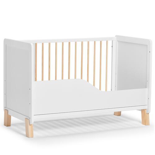 Детская кроватка Kinderkraft <img class='emojiMco' alt='🇪🇺' src='https://minim.kz/system/library/Emoji/AssetsEmoji/Icons/IconsIphone/U1F1EA U1F1FA.png'> с матрасом NICO White (15)