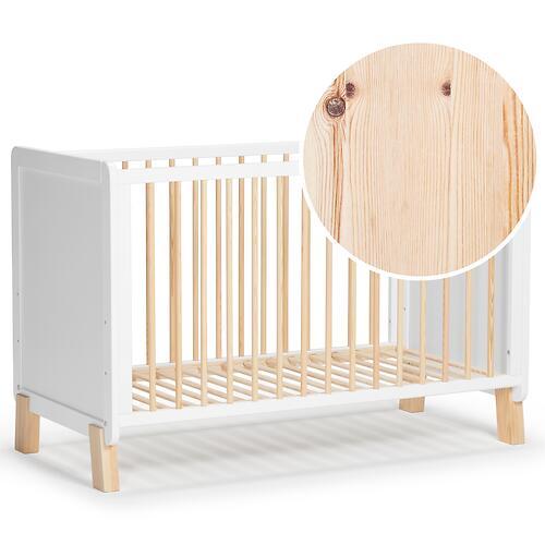 Детская кроватка Kinderkraft <img class='emojiMco' alt='🇪🇺' src='https://minim.kz/system/library/Emoji/AssetsEmoji/Icons/IconsIphone/U1F1EA U1F1FA.png'> с матрасом NICO White (16)
